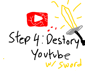 Step 3: Hatch a plan to escape YouTube