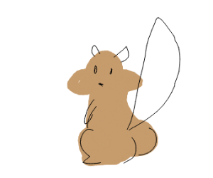 one thicc squirrel