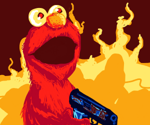 """Elmo Say, """"This is Fine! It's AAAALLL FINE!"""""""