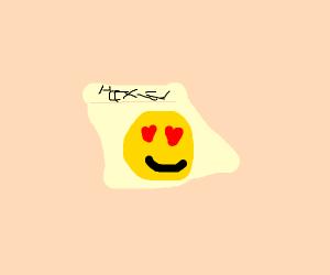 Post it note emoji
