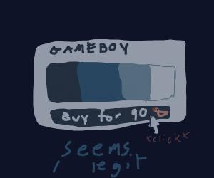 Gameboy color palette