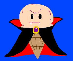 Angry vamipre pink icecream