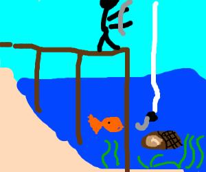 Fishing for Ham