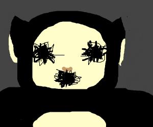 The black Teletubby