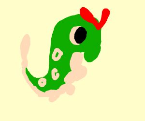 Caterpie ready to fight
