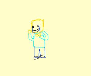 Lego man having mental breakdown