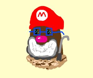 Elderly Mario Diglet