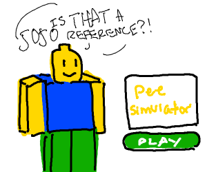 is that a jojo reference? (roblox edition)