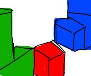 tetris in 3D
