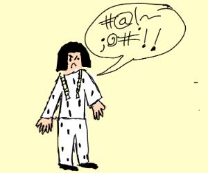 bucciarati swearing;;