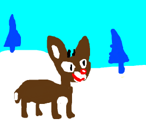 rudoph the red nosed raindeer