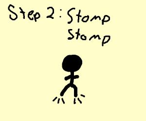 Step 1: Clap clap