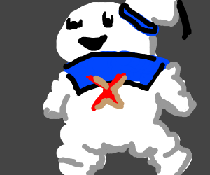 Puffy marshmallow guy from ghost busters