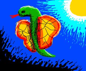 A Snake-Butterfly