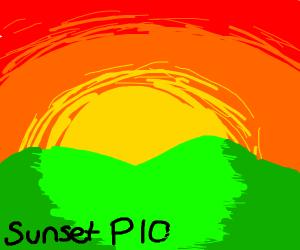 Sunset P.I.O.