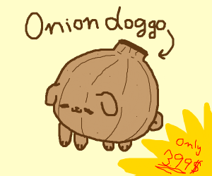 Onion doggo
