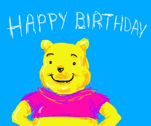 Birthday free draw (NOT PIO, DO NOT PIO)