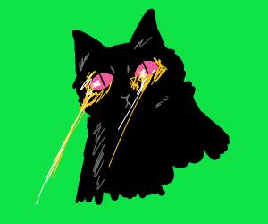 Laser Eye Cat