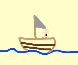 A boat for nudist