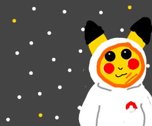 Pikachu astronaut