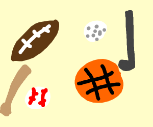 athletic events