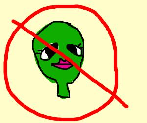 No sexy aliens!