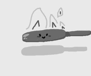 hot, happy pan