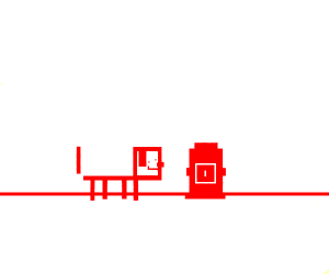 red line doggo