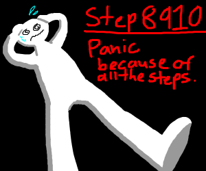 step 8909: find out there is too many steps