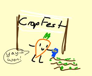 Carrot wins crop festival