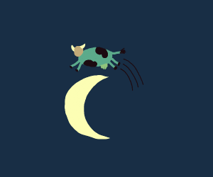Example: cow jump over the moon