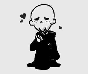 Kawaii grim reaper