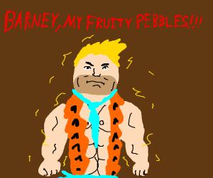 Super Saiyan Fred Flintstone