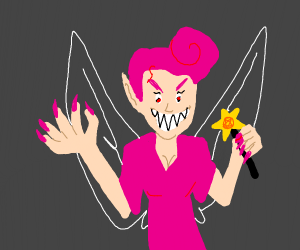 Creepy fairy