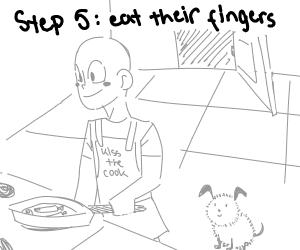 step 4: apologize to their families