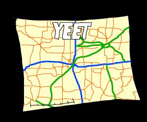Yeet city map