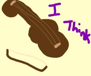 a violin, i think...
