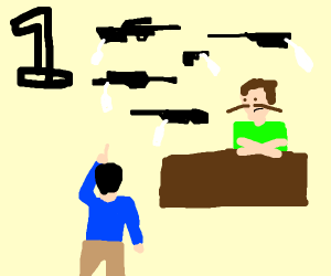 Step 1: Get the gun