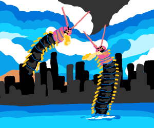 Centipede invasion