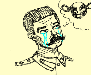 stalin misses his dog