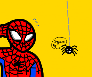 Spiderman vs spider