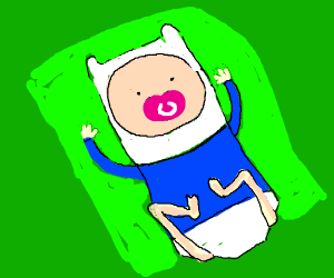 Baby Finn (adventure time)