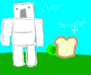 bread hires iron golem