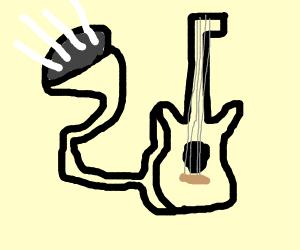 Dr. Seuss style Guitar