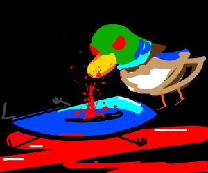 Mallard murders drawception