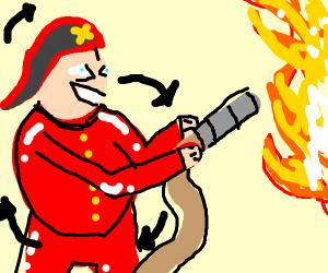Round Firefighter