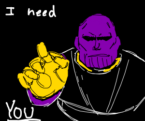 Thanos needs your help