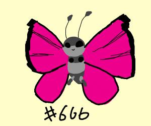 The devil pokemon, vivillon