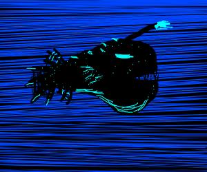 deep-water angler