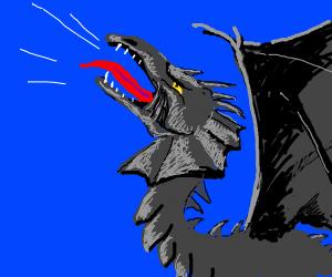 Dragon goes roaw
